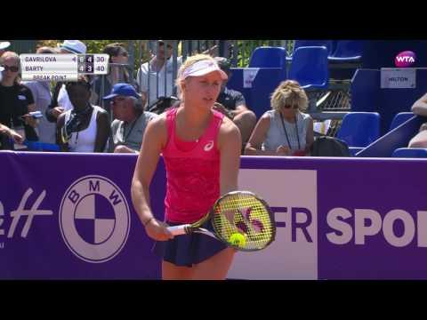 2017 Internationaux de Strasbourg Quarterfinals | Daria Gavrilova vs Barty | WTA Highlights