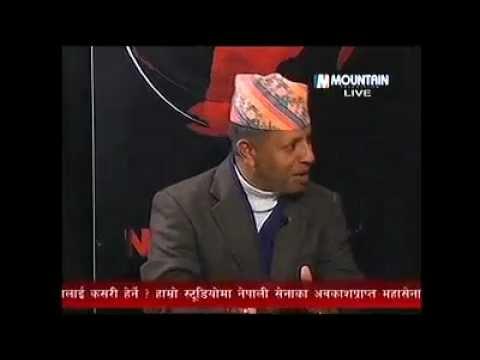 Ratindra Khatri @ Mountain TV (Maina Sunuwar Human Right Issue)