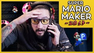 1 LIFE PERMADEATH CHALLENGE - SUPER MARIO MAKER