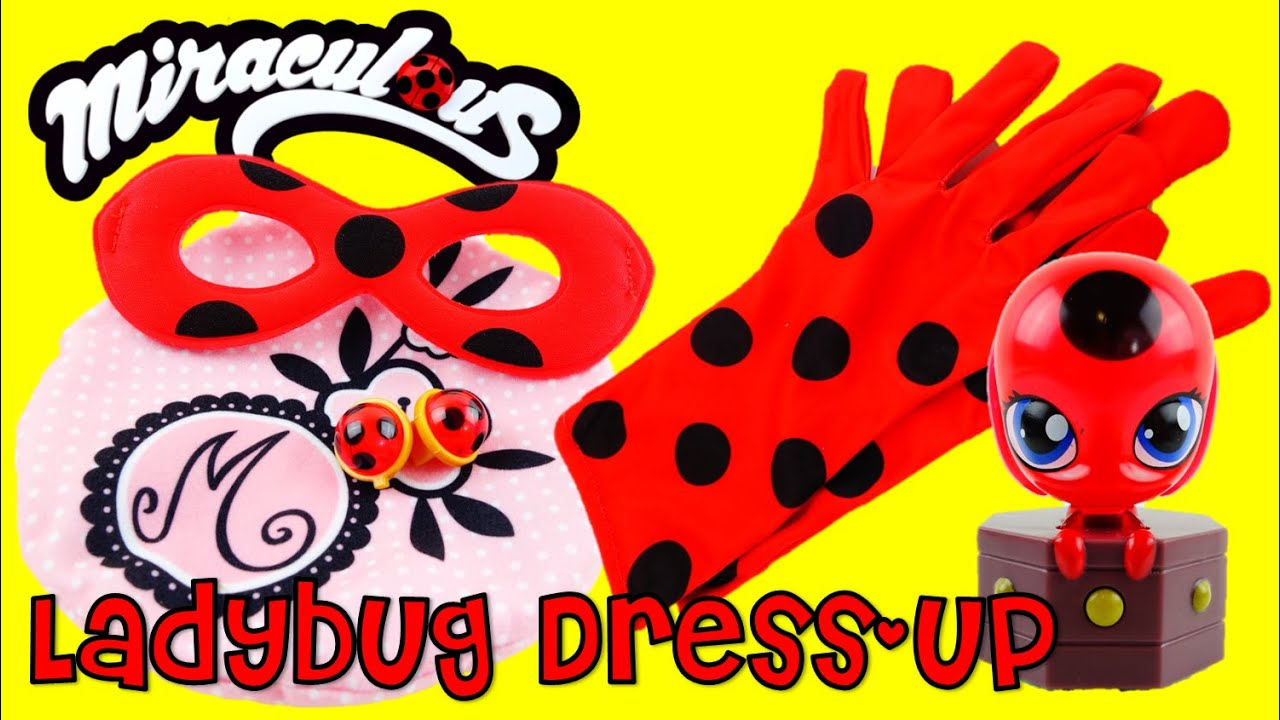 Be Marinette And Ladybug Dress Up Role Play Costume Set With Tikki Kostum Bee N Bug Toy Review Youtube