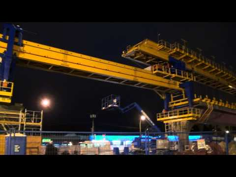 Evergreen Line Construction Sites Full HD March 03 2014 Bcnewsvideo