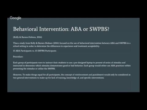 SPCE 619- ABA and SWPBS
