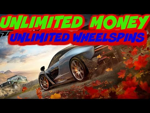 Unlimited Money & Wheelspins Forza Horizon 4
