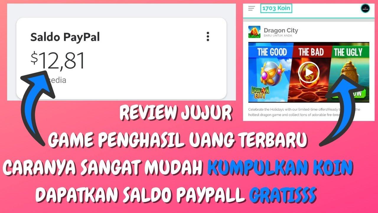 GAME PENGHASIL UANG 2021, TERBUKTI MEMBAYAR?   Review ...