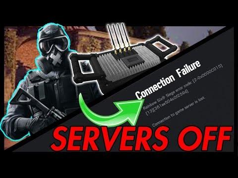 Turn OFF The Servers In Rainbow Six Siege