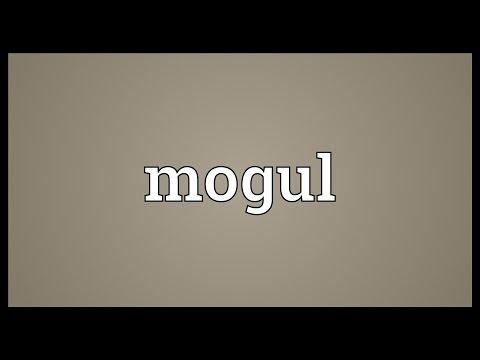 Mogul Meaning