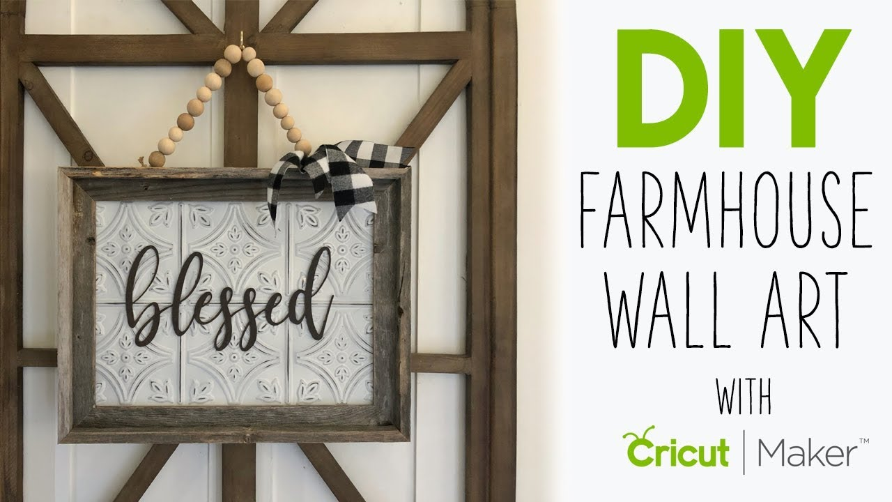 3 Simple Projects With The Cricut Maker!