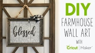 3 Simple Projects With The Cricut Maker Youtube