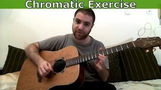 Guitar Tutorial: Best Chromatic Exercise Ever - Circus Theme (March of the Gladiators) - w/ TAB