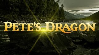 "Making ""Pete's Dragon"" Text Effect in Photoshop from a Sketch! - Photoshop 