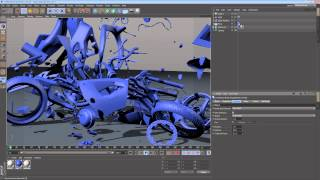 Five Minute Tip - Exploding Things with MoGraph in
