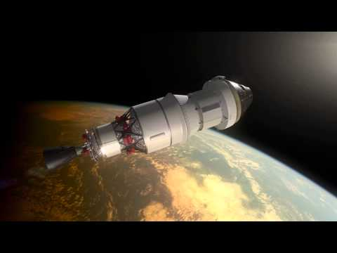 NASA Orion Spacecraft Exploration Flight Test