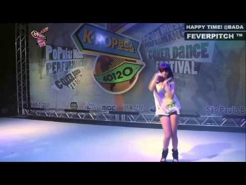 Brazilian Girl's K-POP Cover Dance - BUBBLE POP (HyunA)
