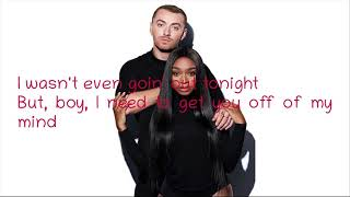 Sam Smith, Normani - Dancing With a Stranger Lyrics Video