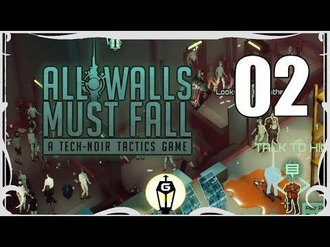 Looper | Let's Play All Walls Must Fall A Tech Noir Tactics Game Ep 2