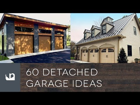 60 Detached Garage Ideas
