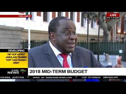 Minister Mboweni on his mid-term budget