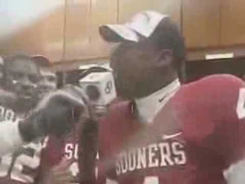 Malcolm Kelly free styling after Big 12 Championship (2006)
