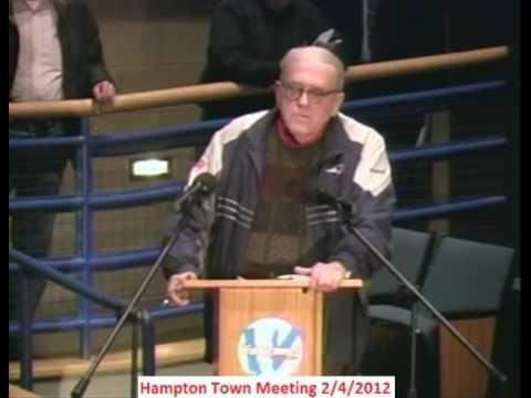TownMeeting 2/4/2012 7 Article 31 Arthur Moody