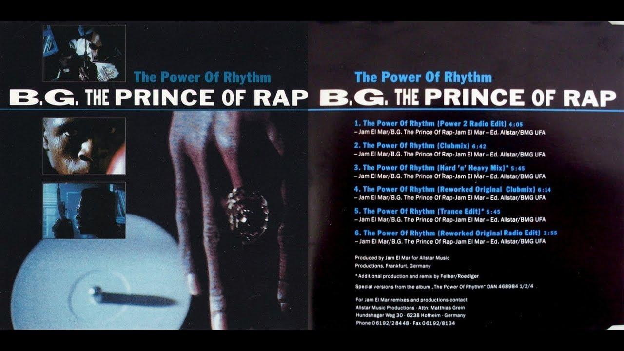 B.G. The Prince of Rap - The Power of Rhythm (Power 2 Radio Edit)[Lyrics]