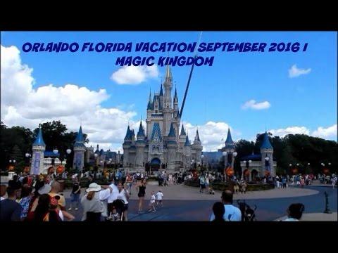 ORLANDO FLORIDA VACATION SEPTEMBER 2016 I MAGIC KINGDOM