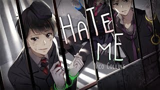 Nightcore ↬ Hate me [lyrics]