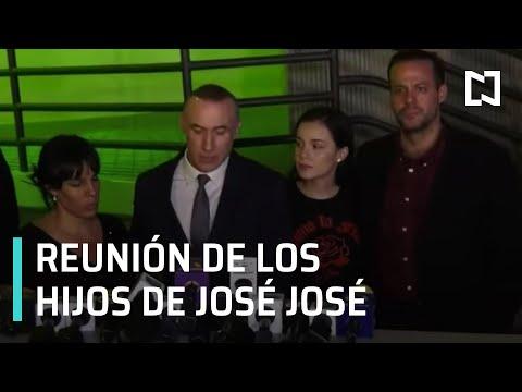 Se reúnen los hijos de José José
