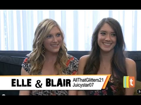 Elle & Blair Fowler, YouTube's Beauty Tastemakers