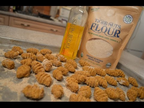 Vegan Tiger Nut & Pumpkin Gnocchi: Cooking with Kimberly