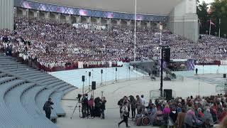"""00053 Noslēguma koncerta """"Zvaigžņu ceļā"""" ģenerālmēģinājuma 7.07.2018 fragments"""