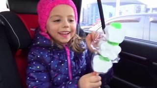 Игровой ДОМИК Настя с Ариной играют в куклы Playhouse for children ВЛОГ
