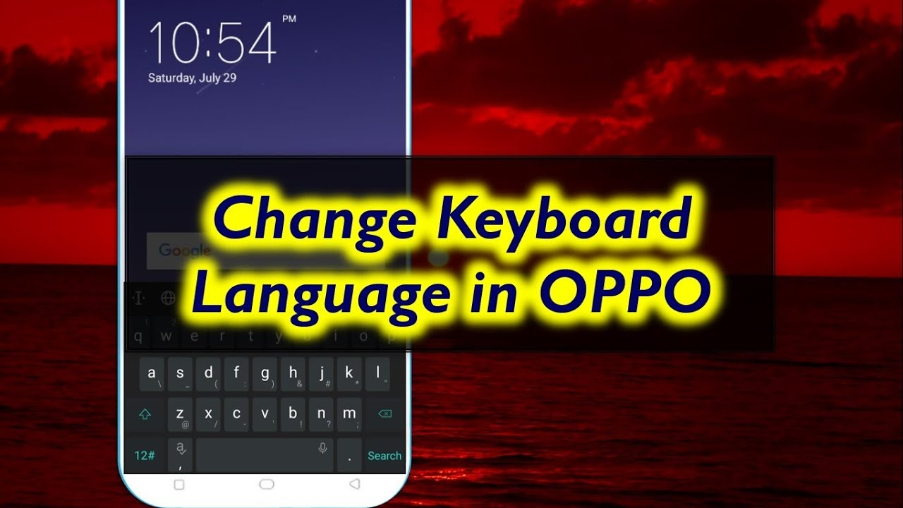 How to Change Keyboard Language in OPPO