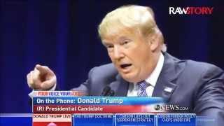 Donald Trump: I