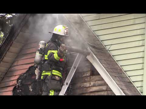 Crews Battle Lower Saucon House Fire - 9.24.18