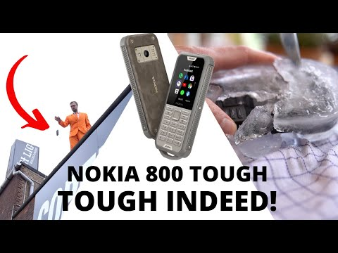 Nokia 800 Tough review - a rugged, durable phone