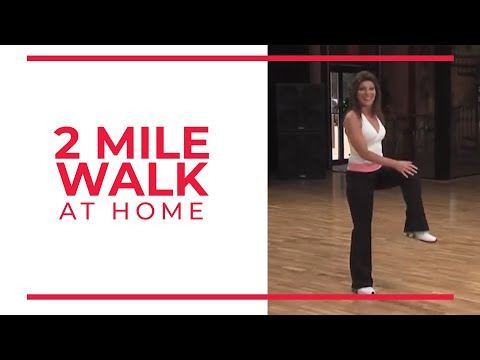 2 Mile Walk | At Home Workouts