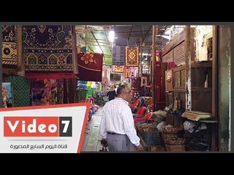 القيسارية بأسيوط سوق المهن النادرة والغلابة وستات زمان وأقدم المتاجر  - 18:54-2018 / 9 / 14