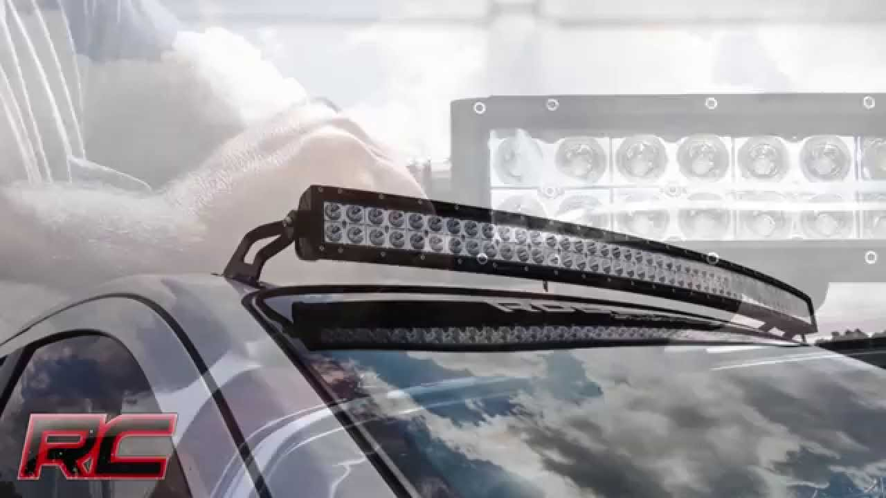 4wd Light Bars 2004 2015 4wd2wd nissan titan 50 curved led light bar brackets by 2004 2015 4wd2wd nissan titan 50 curved led light bar brackets by rough country youtube audiocablefo