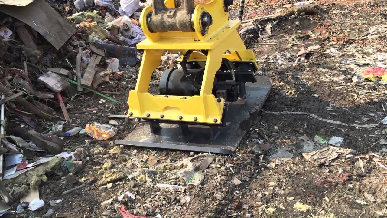 Hydraulic Plate Compactor For Excavator Used Construction