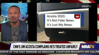Jim Acosta Wanted Bumper Stickers for His March; Bongino Delivered