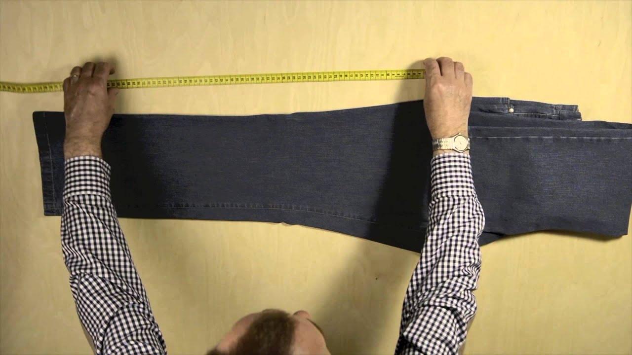 Lange der hose messen