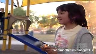 Criss Angel Mindfreak Criss transforms into a 10 yo kid
