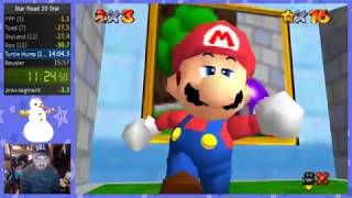 Super Mario Star Road 20 Star Speedrun in 15:30 W/Commentary
