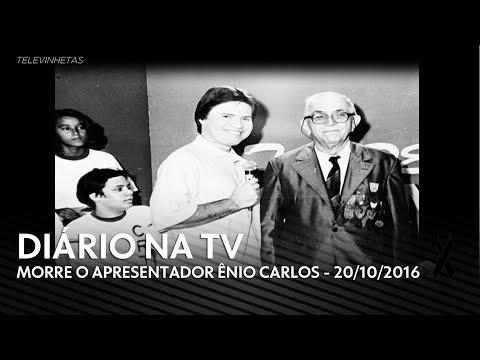 HD Diário na TV  Morre o apresentador Ênio Carlos 20102016