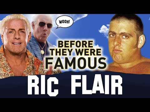 RIC FLAIR DRIP | Before They Were Famous | Wrestler Biography