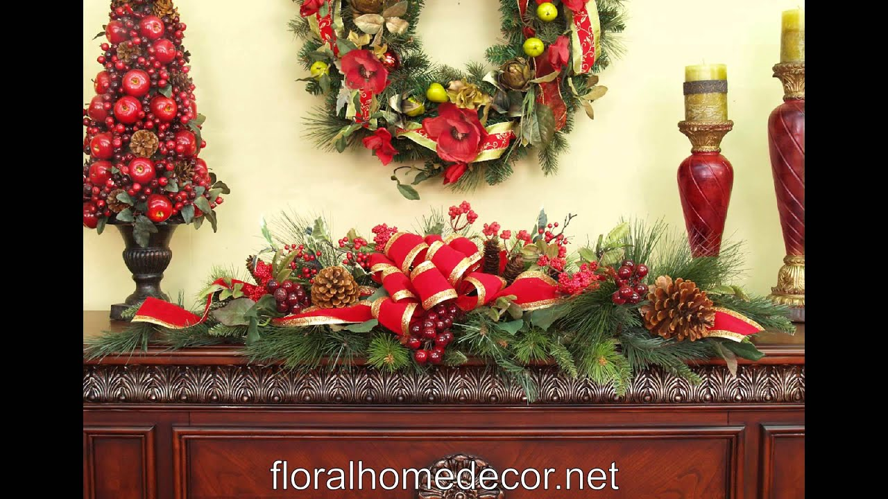 Rustic Christmas Decor Youtube