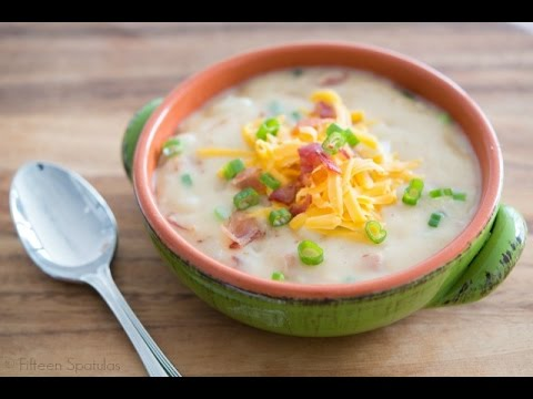 Loaded Potato Soup Recipe