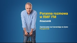 Rafał Trzaskowski gościem Porannej rozmowy w RMF FM