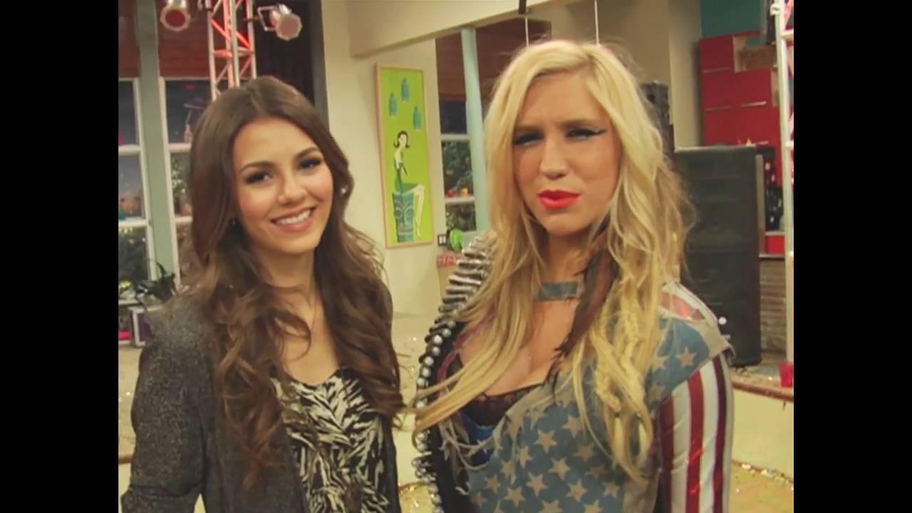 Ke$ha guest stars on Victorious - Nickelodeon - YouTube