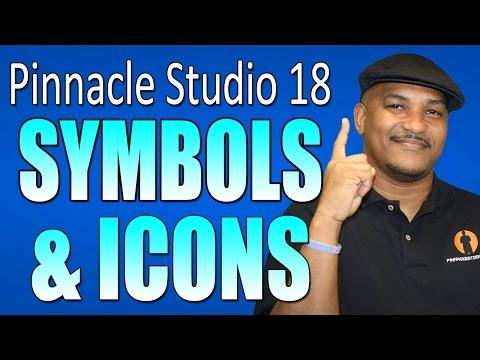 Pinnacle Studio 18 & 19 Ultimate - Symbols & Icons Tutorial